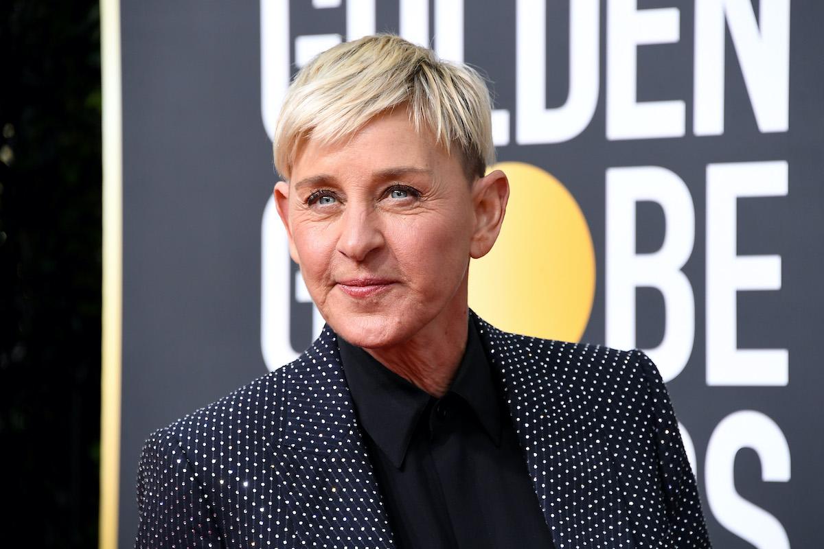 Ellen DeGeneres at the 77th Annual Golden Globe Awards