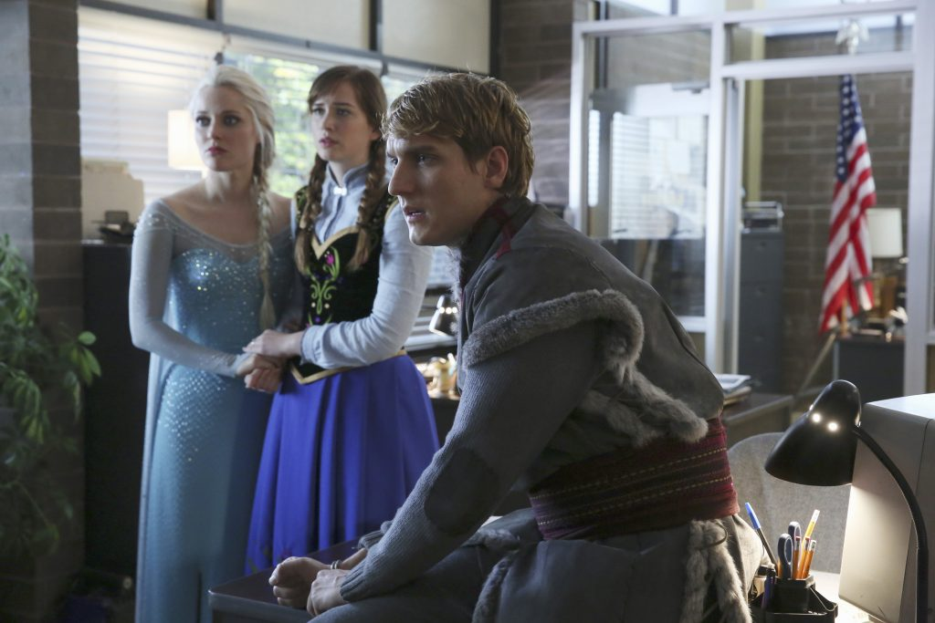 'Frozen' characters on 'Once Upon a Time'