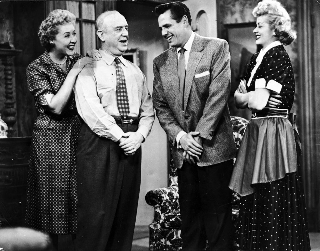 The cast of 'I Love Lucy'