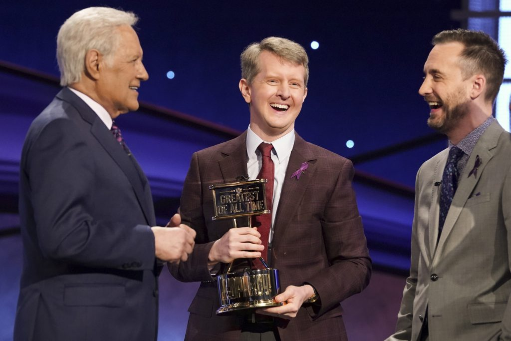 A winning moment on 'Jeopardy!'