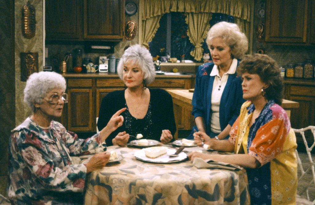 A scene from 'The Golden Girls'