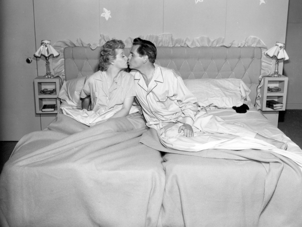 A scene from 'I Love Lucy'
