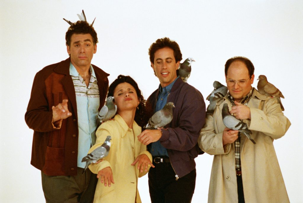 The cast of 'Seinfeld'
