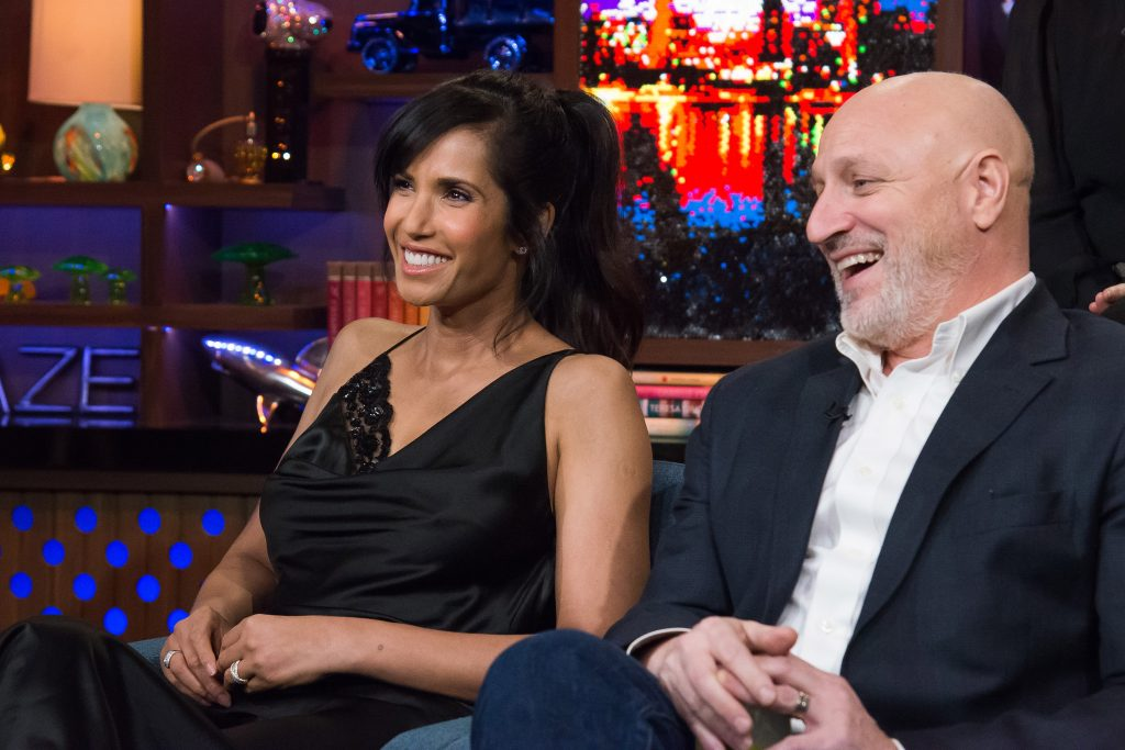 'Top Chef' hosts (from left) Padma Lakshmi and Tom Colicchio