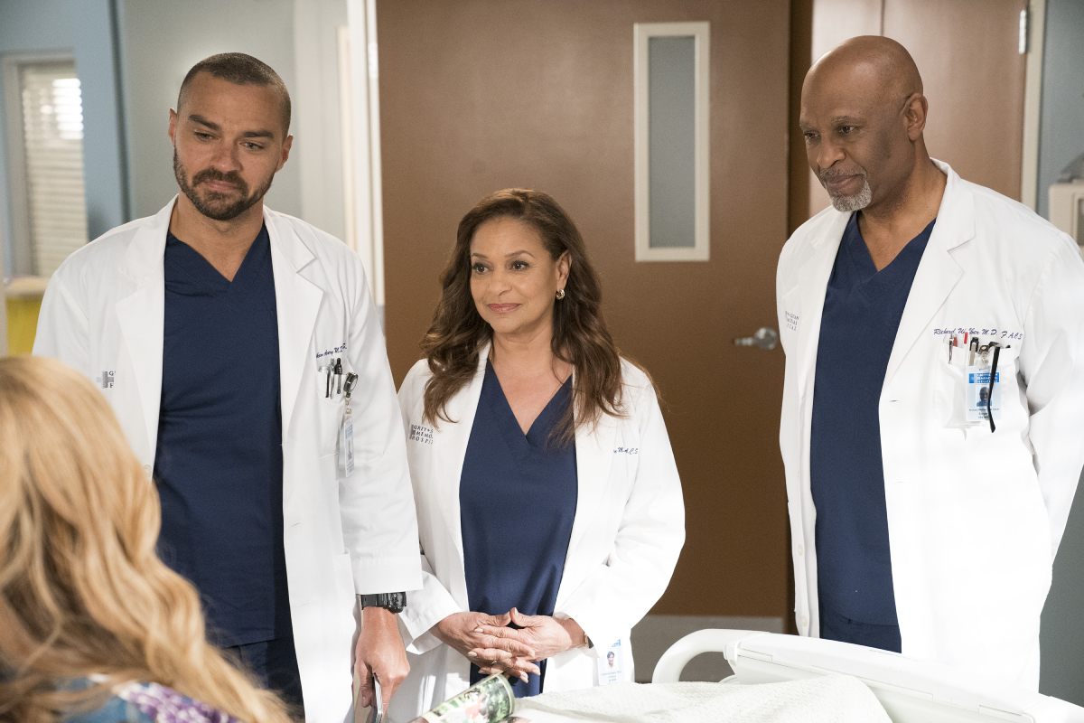 Grey's Anatomy Debbie Allen