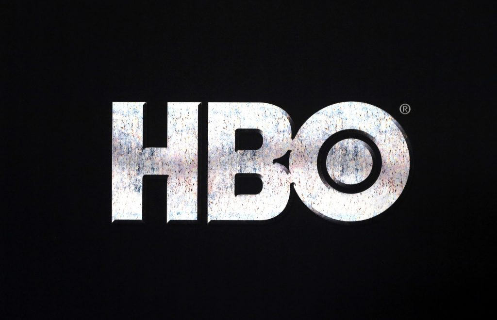 Close up of the HBO logo at the Game of Thrones Premiere