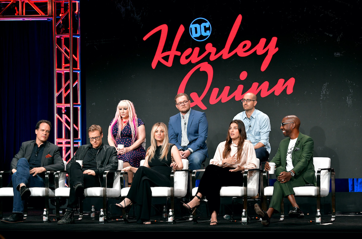 The cast of 'Harley Quinn' at the DC Universe panel