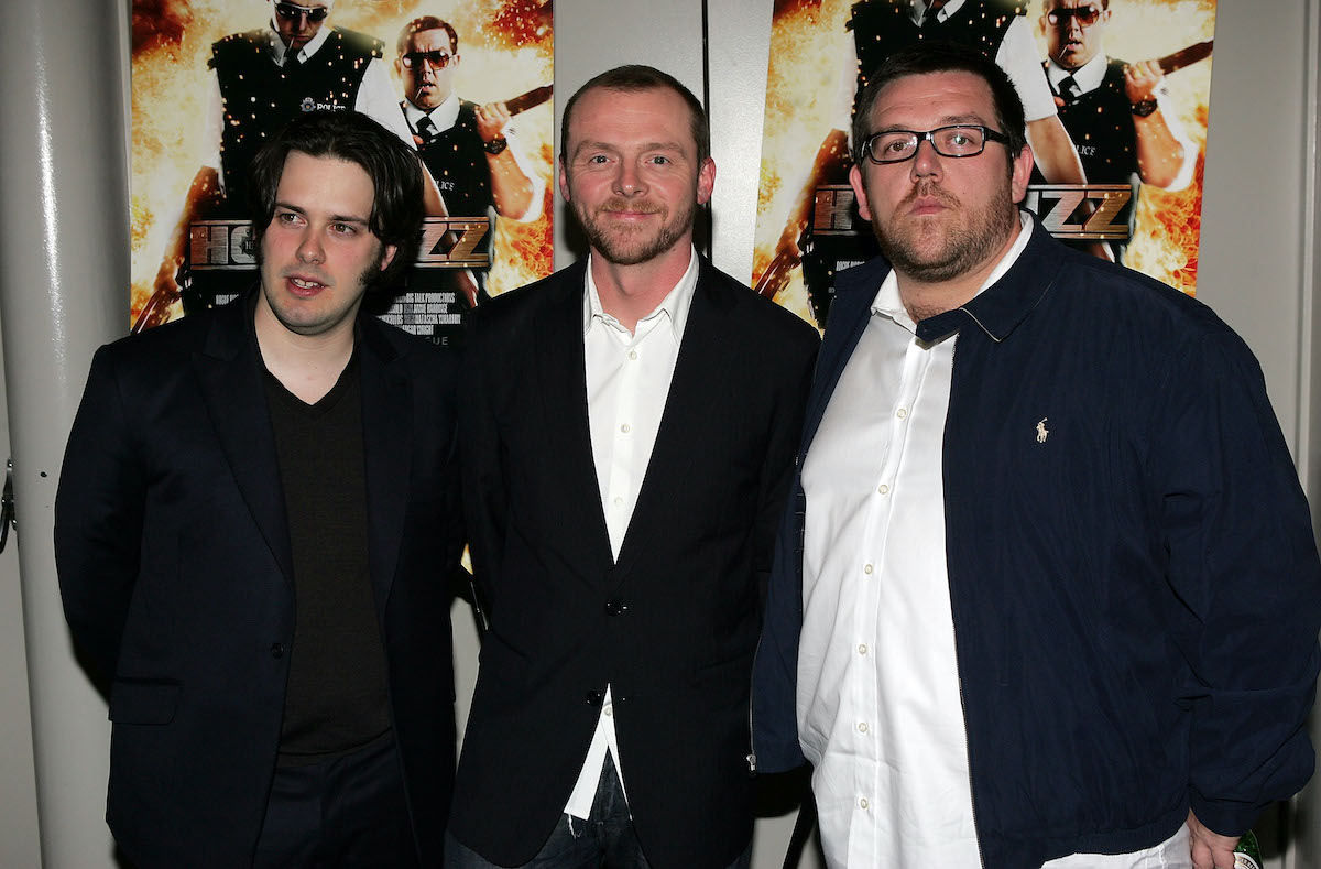 Edgar Wright, Simon Pegg, and Nick Frost