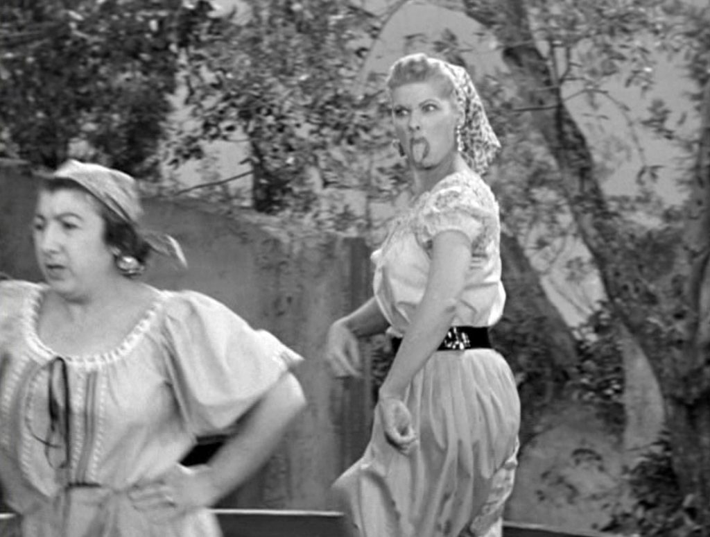Lucille Ball in 'Lucy's Italian Movie'