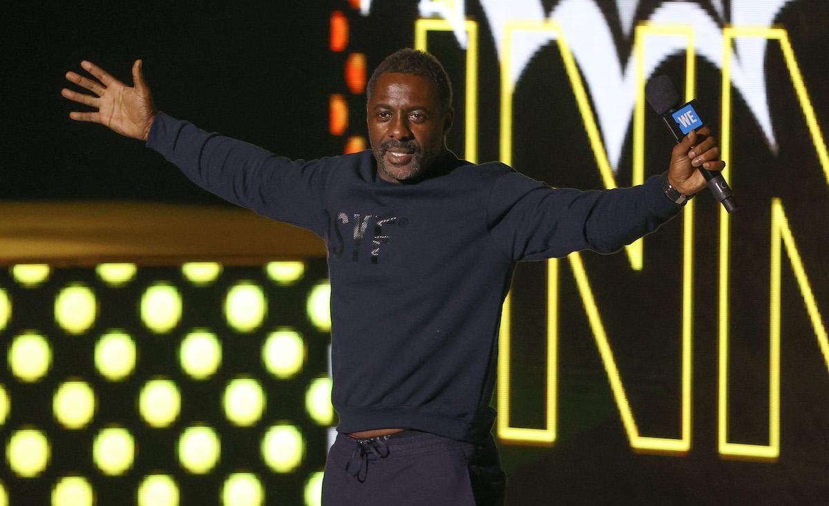 Idris Elba at WE Day UK 2020
