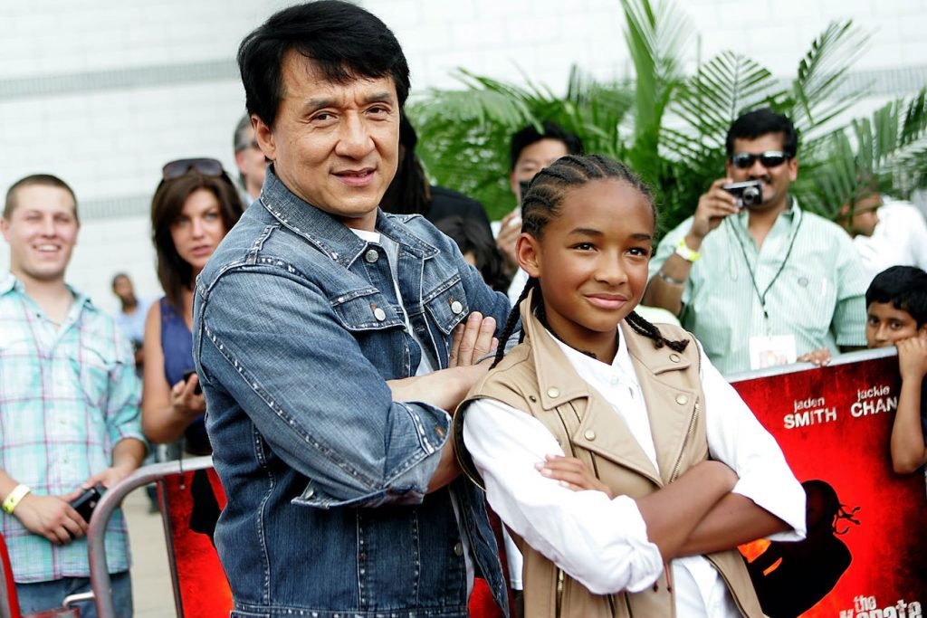 Jackie Chan and Jaden Smith The Karate Kid
