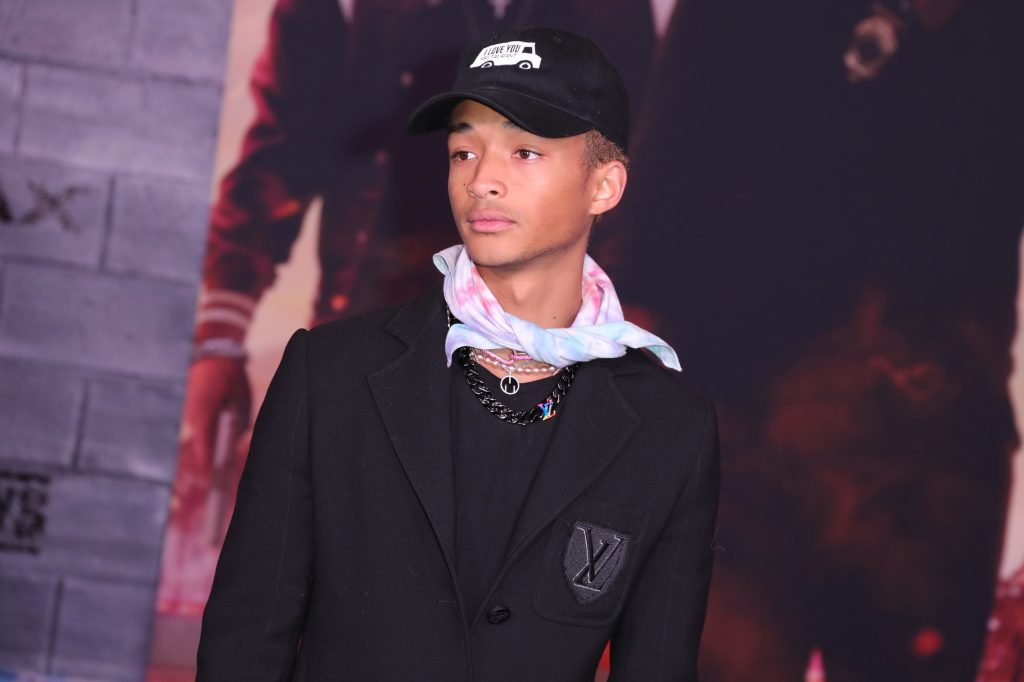 Jaden Smith at the premiere of 'Bad Boys for Life'
