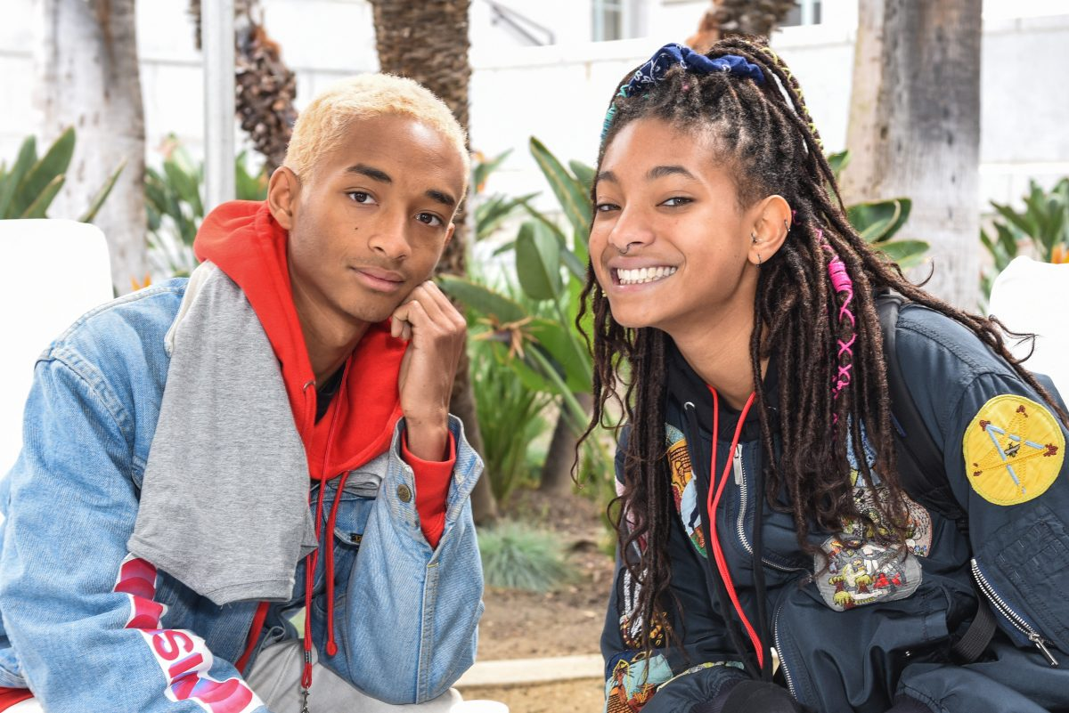 Jaden Smith and Willow Smith at the March For Our Lives in Los Angeles