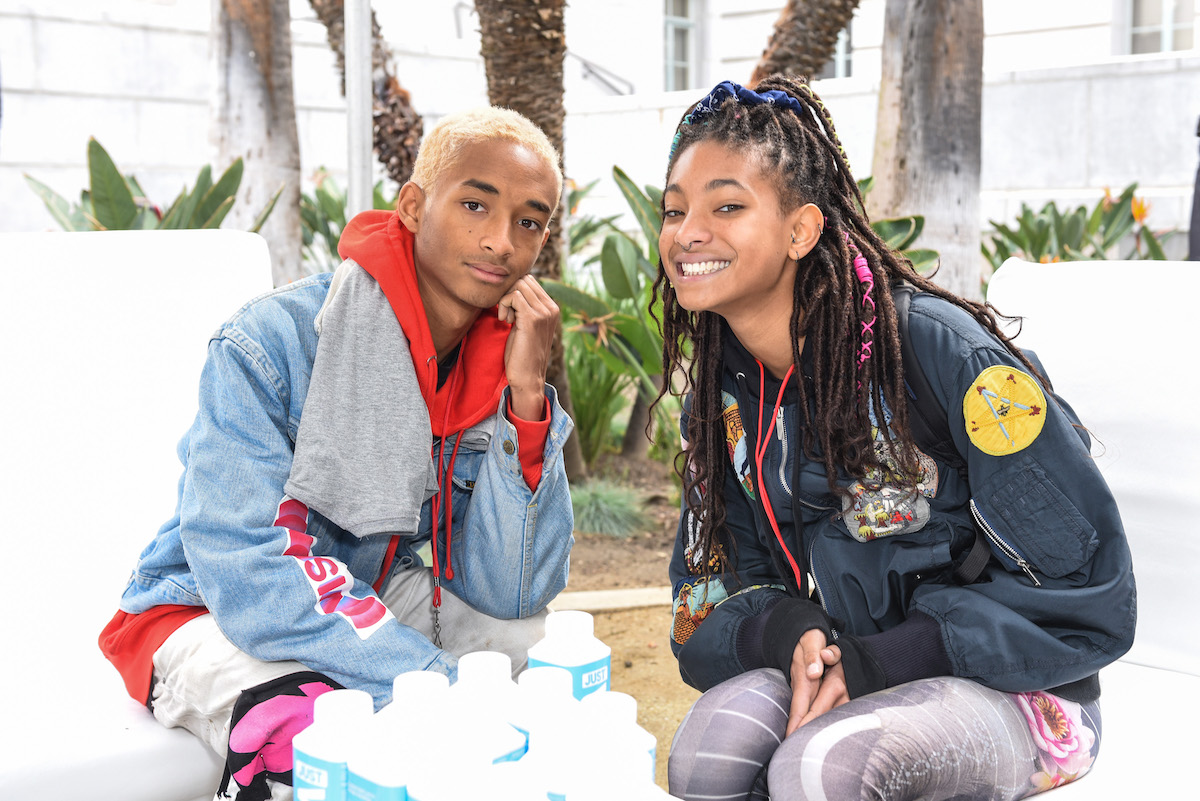 Jaden Smith and Willow Smith attend March For Our Lives Los Angeles