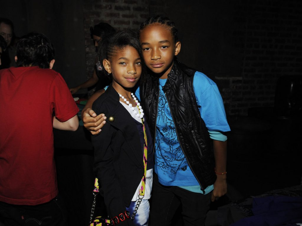 Jaden and Willow Smith in 2010