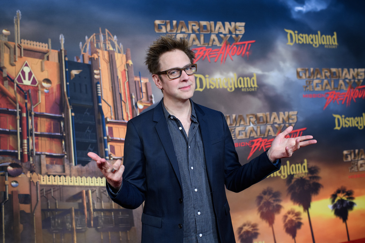 James Gunn at Disney's California Adventure