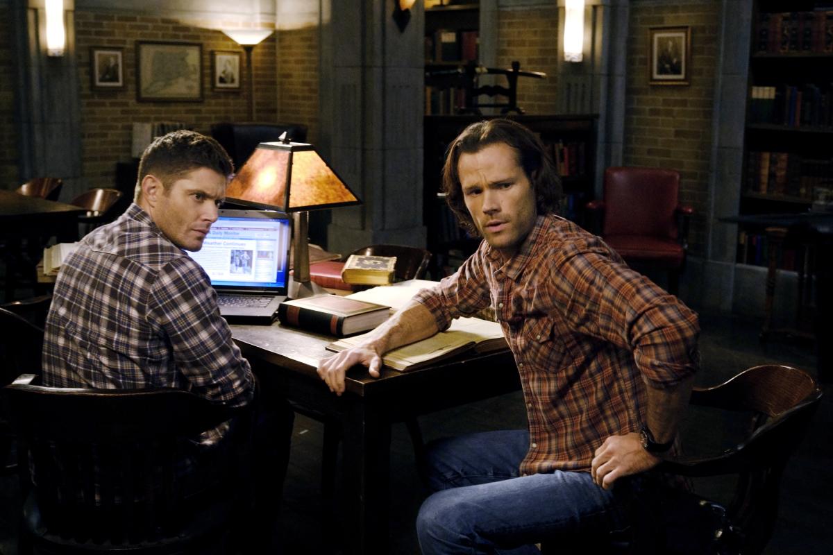 Jared Padalecki and Jensen Ackles