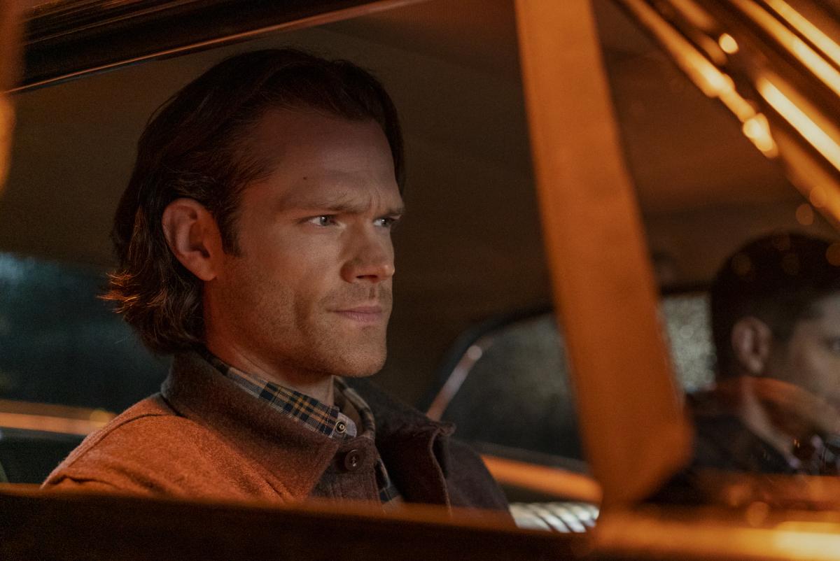 Jared Padalecki in car