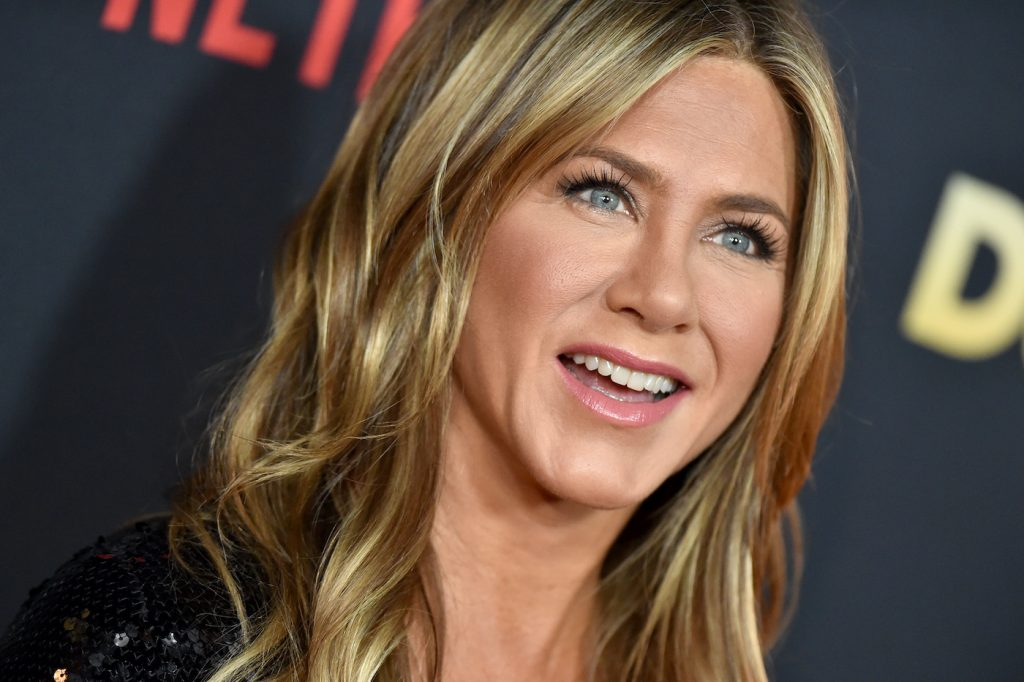 Jennifer Aniston at the premiere of 'Dumplin'