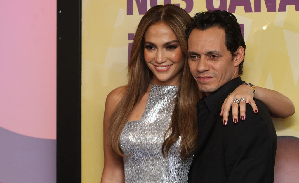 Jennifer Lopez and Marc Anthony | Victor Chavez/WireImage