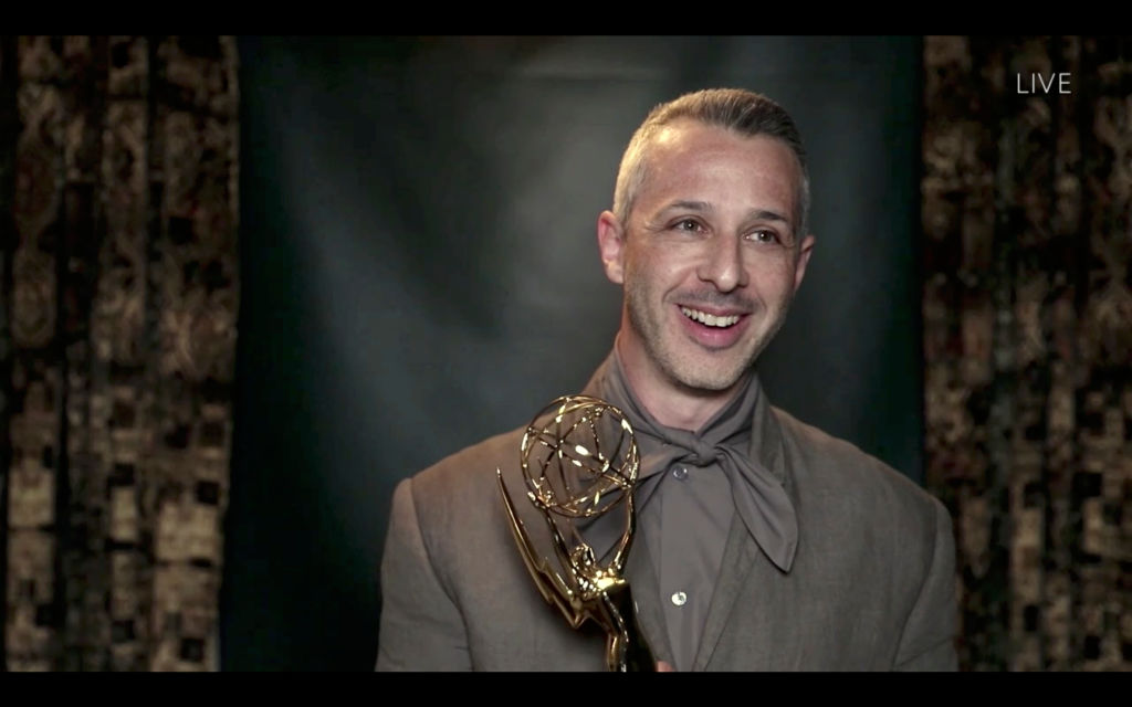Jeremy Strong at the 2020 Emmys