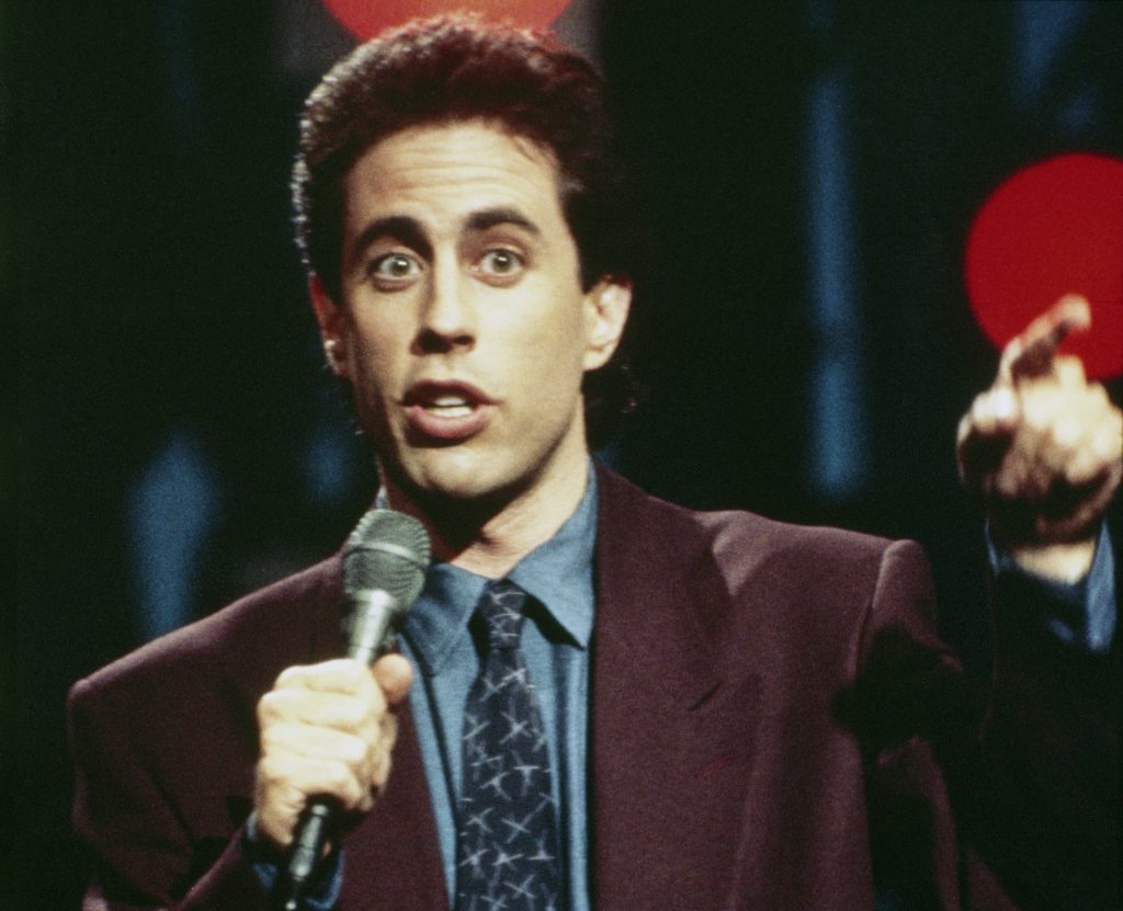 Jerry Seinfeld |NBCU Photo Bank/NBCUniversal via Getty Images via Getty Images