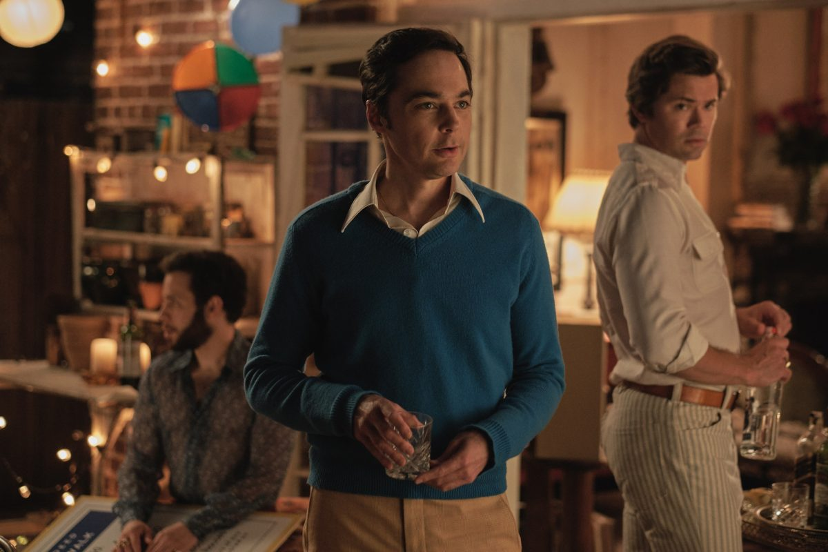 Jim Parsons and Andrew Rannells