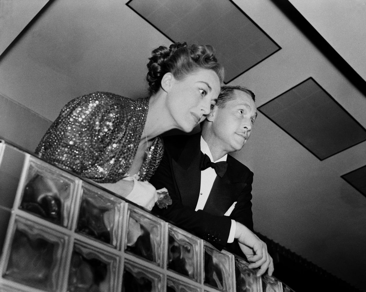 Joan Crawford and Franchot Tone attend an event in Los Angeles, California.
