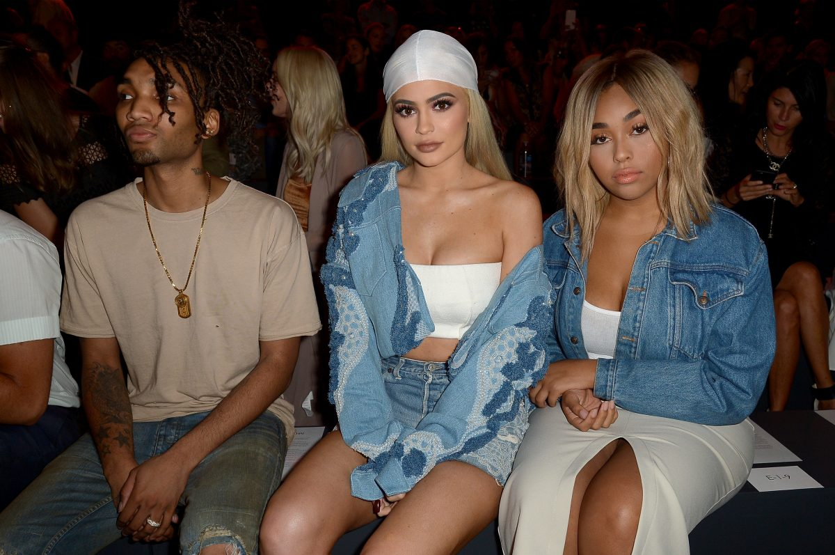 Kylie Jenner and Jordyn Woods attend New York Fashion Week