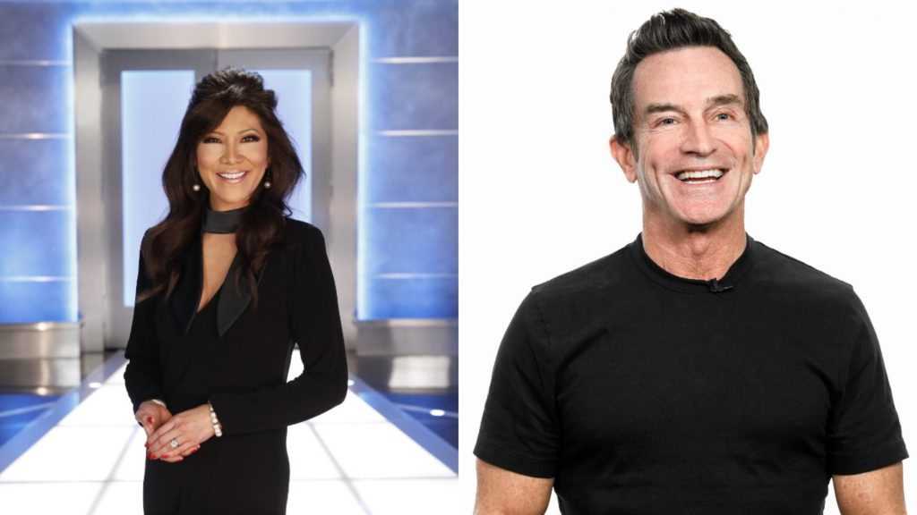 Julie Chen Moonves from 'Big Brother'; Jeff Probst from 'Survivor'