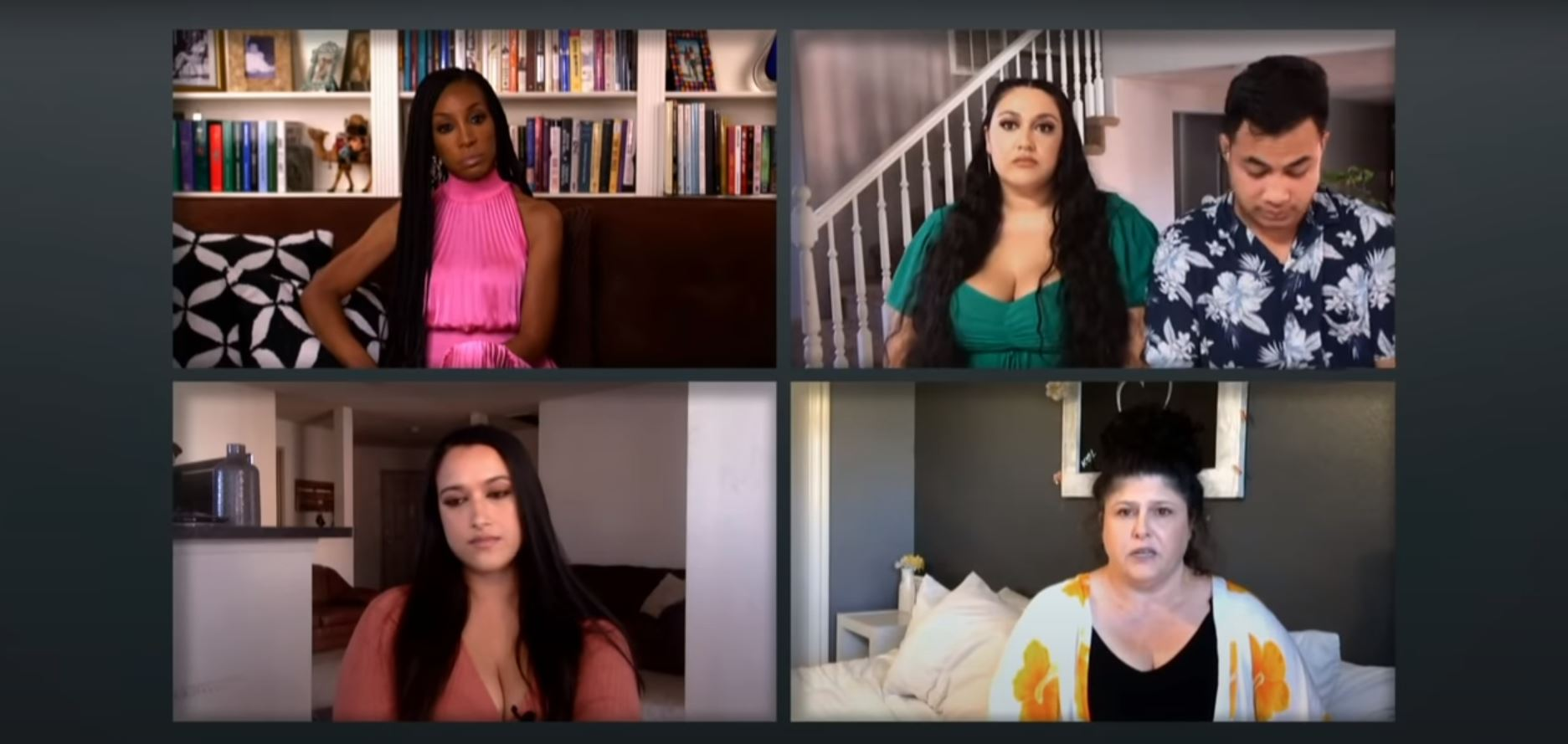 Kalani, Asuelu, Lisa, and Kolini on the '90 Day Fiancé' Tell All
