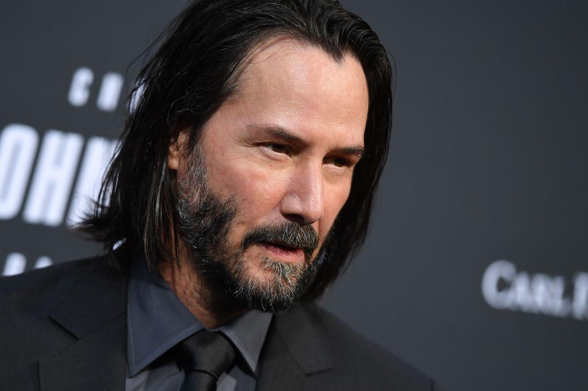 Keanu Reeves at a 'John Wick: Chapter 3 -- Parabellum' screening