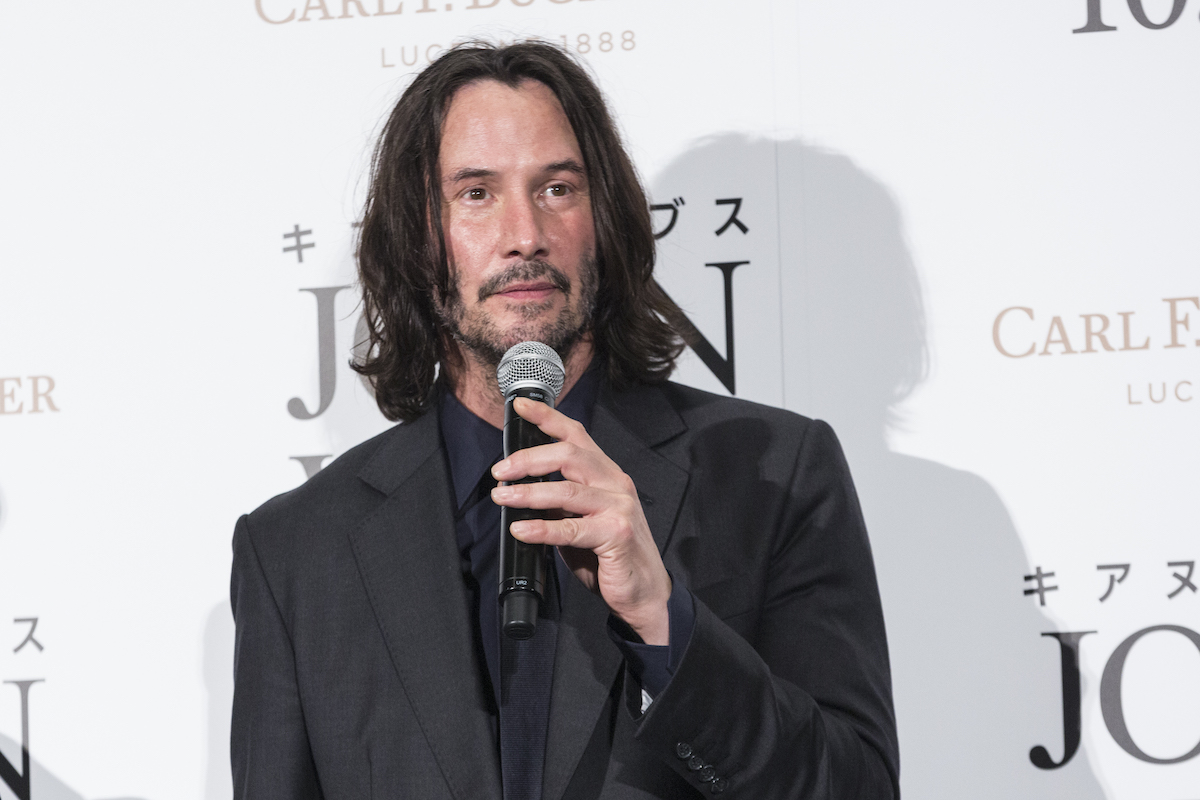 Keanu Reeves at the Japanese premiere of 'John Wick: Chapter 3 -- Parabellum'