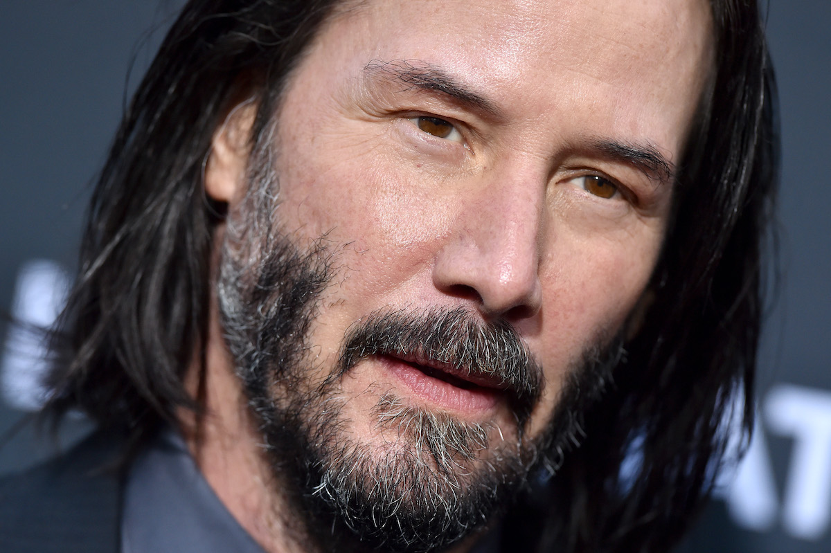 Keanu Reeves at a 'John Wick: Chapter 3 - Parabellum' screening