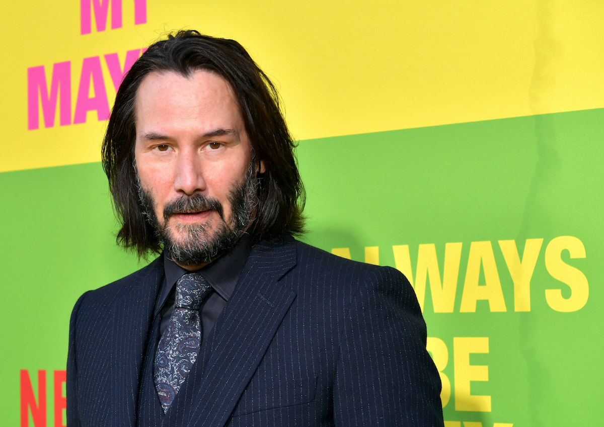 Keanu Reeves at the 'Always Be My Maybe' premiere