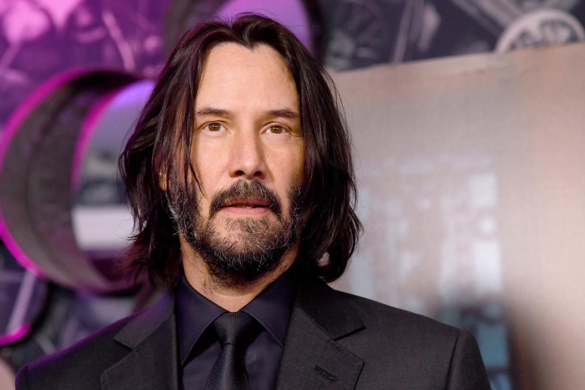 Keanu Reeves at 'John Wick' special screenings