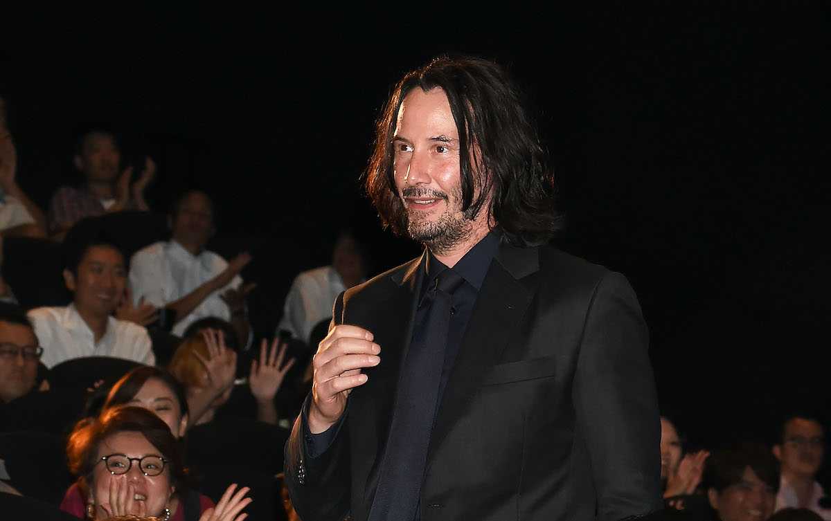 Keanu Reeves at the 'John Wick: Chapter 3 - Parabellum' Japan premiere