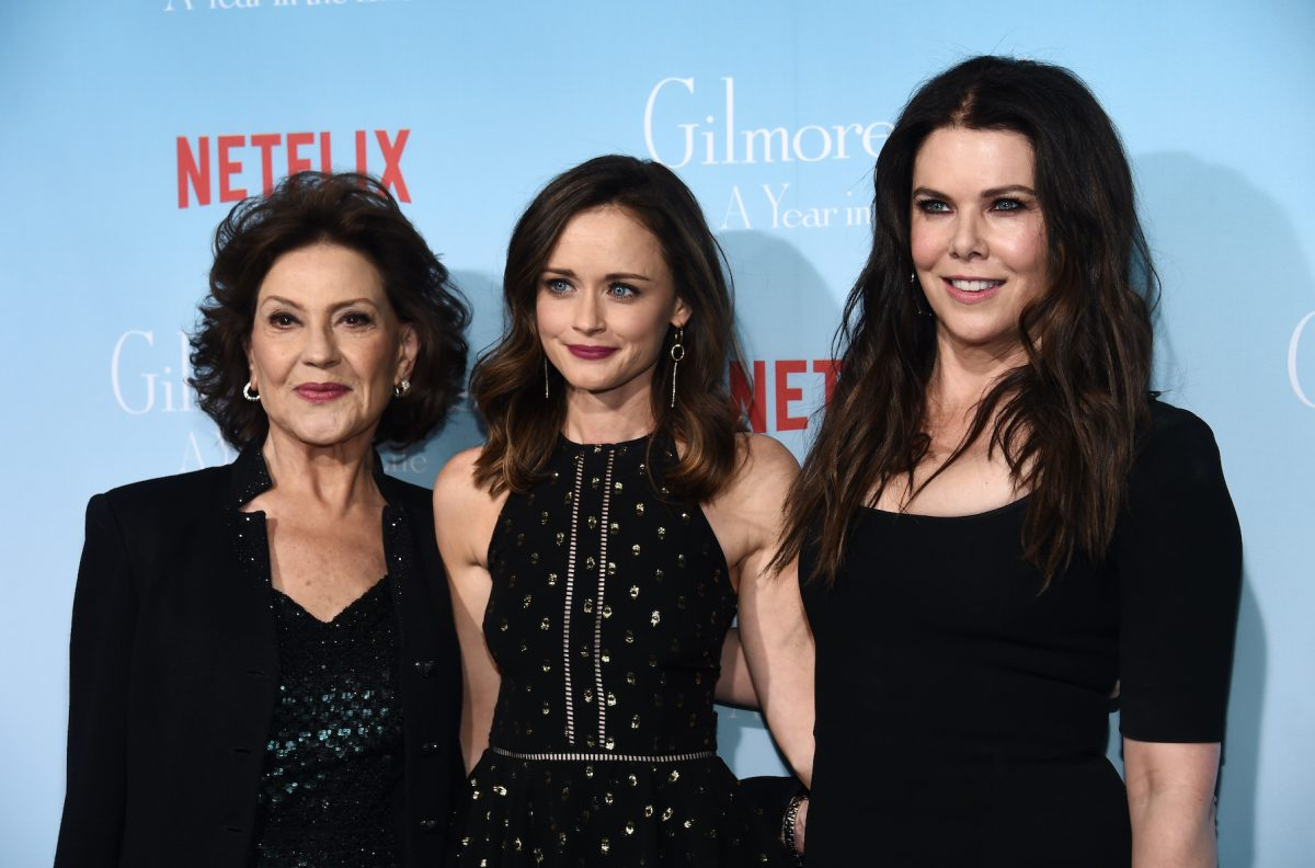 Kelly Bishop, Alexis Bledel, and Lauren Graham at the premiere of 'Gilmore Girls: A Year in the Life'