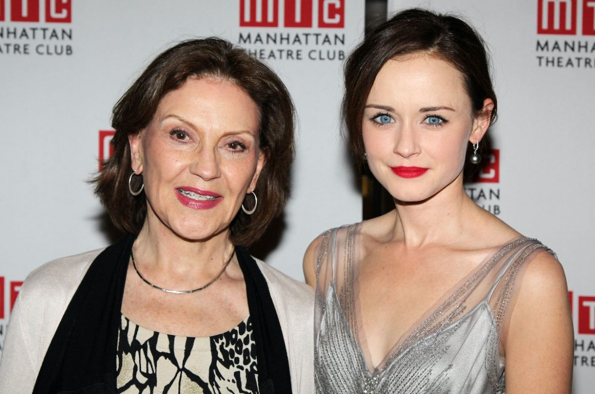 Kelly Bishop and Alexis Bledel attend 'Regrets' Off-Broadway opening night