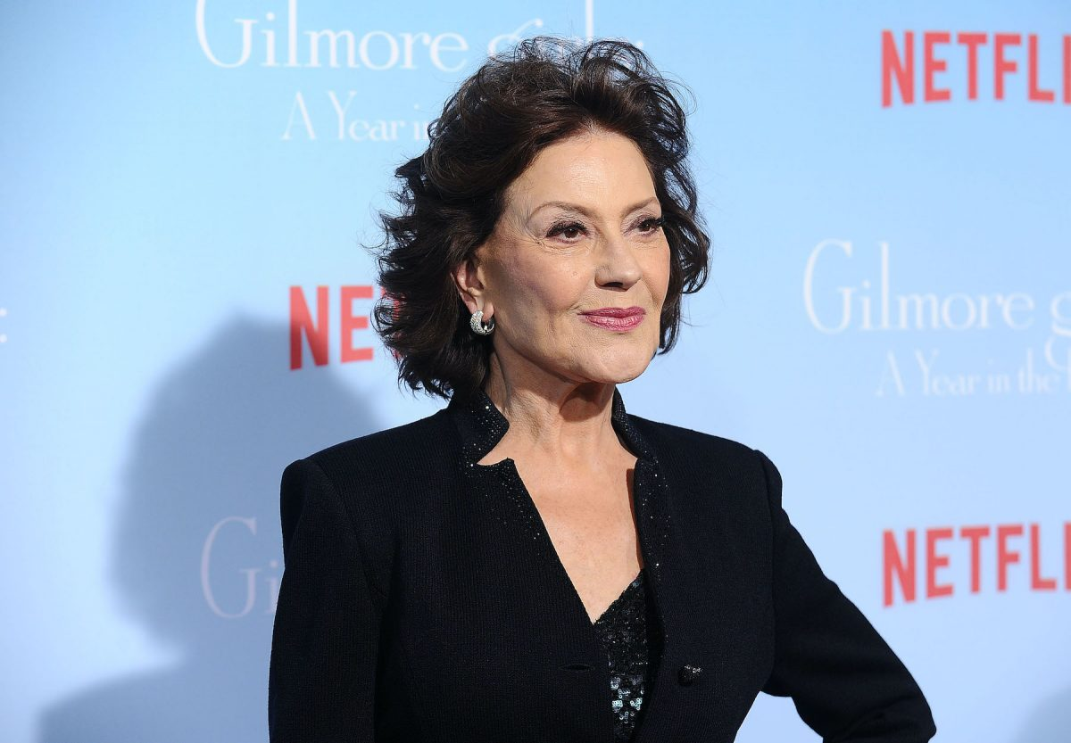Kelly Bishop at the premiere of 'Gilmore Girls: A Year in the Life'