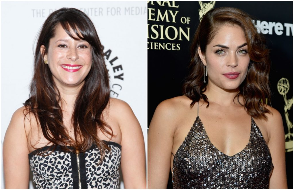 Kimberly McCullough and Kelly Thiebaud