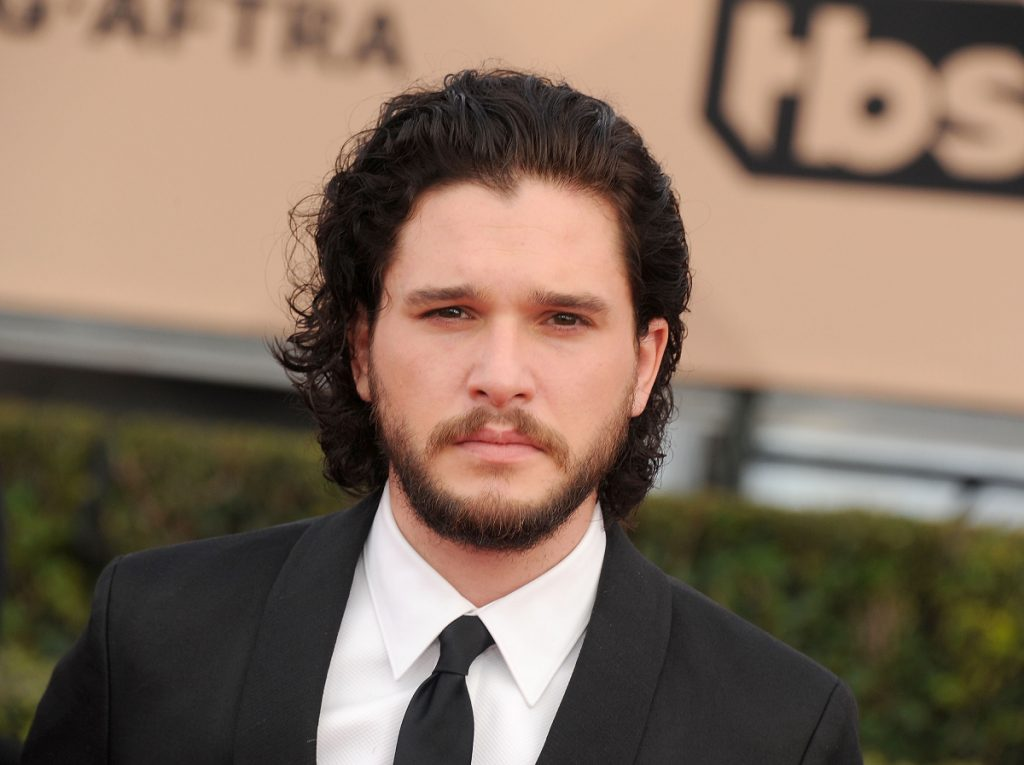 Actor Kit Harington arrives at the 22nd Annual Screen Actors Guild Awards
