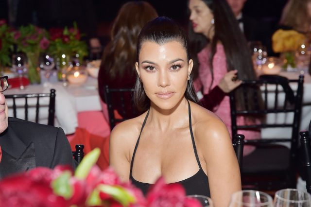 Kourtney Kardashian Edgy French Manicure Is Perfect for Fall