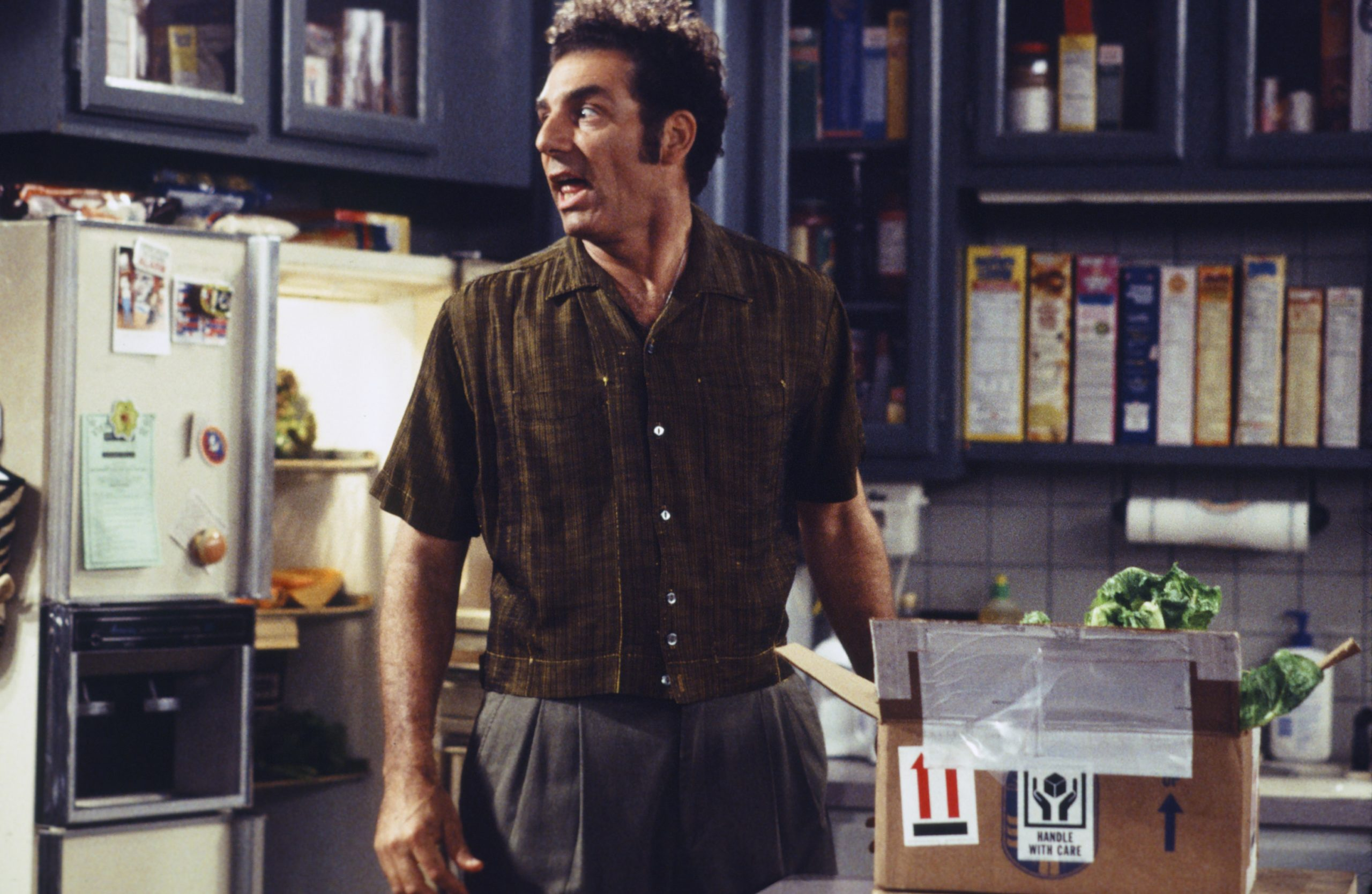 Michael Richards as Kramer