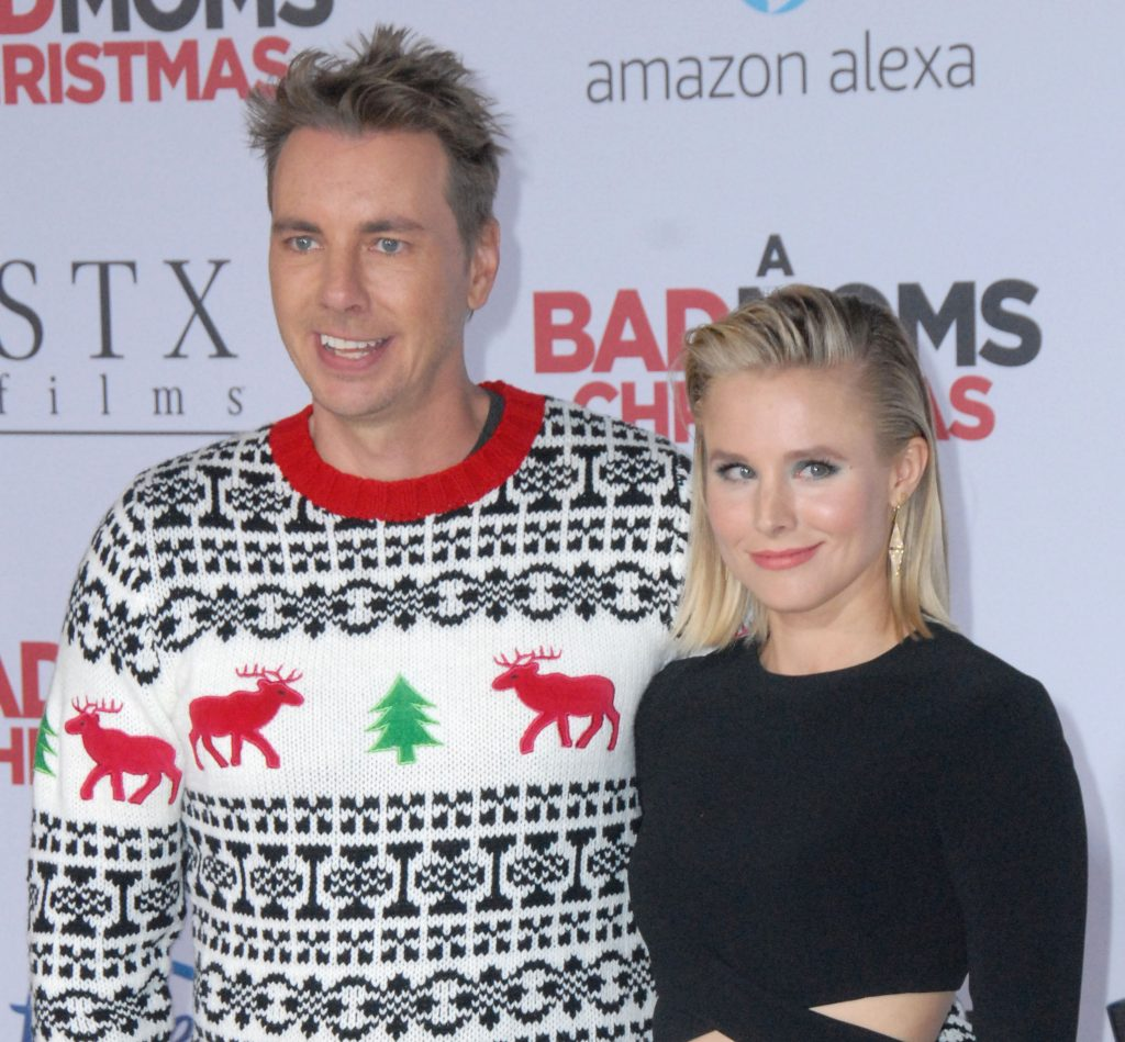 Kristen Bell and Dax Shepard - Bad Moms Christmas