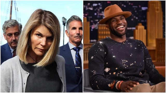 LeBron James Reacts to Lori Loughlin's Prison Sentence: 'I'm Laughing Cause Sometimes You Have to Just to Stop From Crying!'