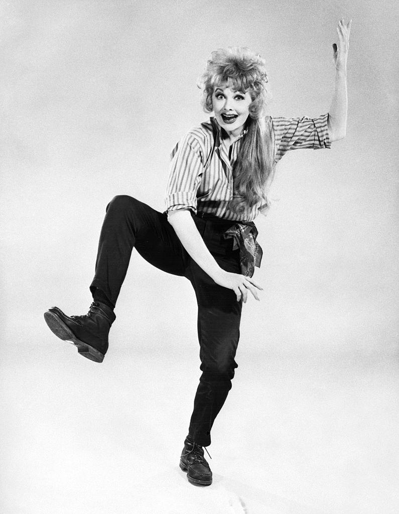 Lucille Ball in Wildcat