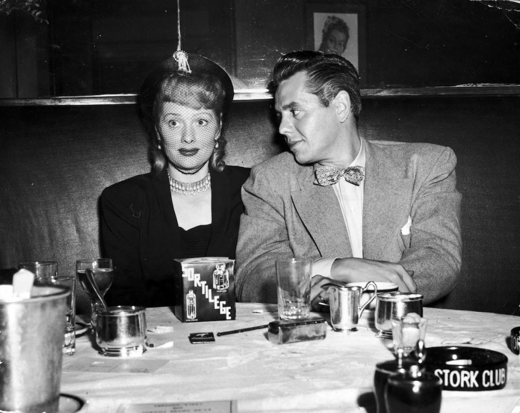 Lucille Ball and Desi Arnaz in New York City