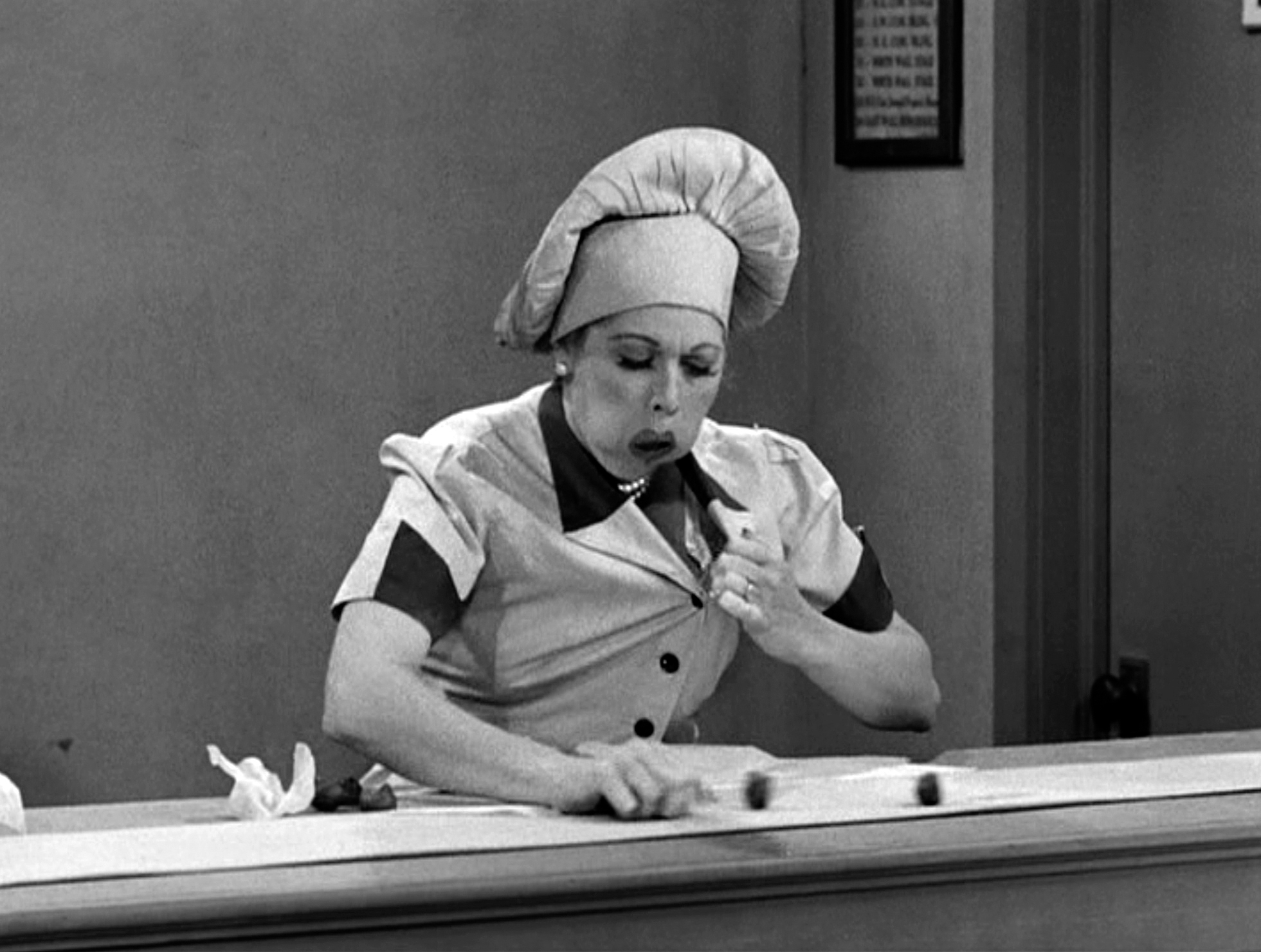 Lucille Ball in Job Switching