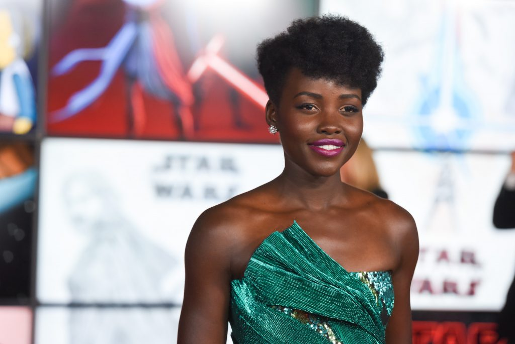Lupita Nyong'o attends Premiere Of Disney Pictures And Lucasfilm's 'Star Wars: The Last Jedi'